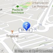 Map Gabinete Ortopédico Tinerfeño - Got Santa Cruz de Tenerife, Spain