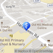 Map Medicspot Clinic Cradley Heath Old Hill Cradley Heath, United Kingdom