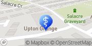 Map Anchor - Upton Grange care home Wirral, United Kingdom