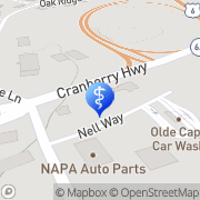 Map Cape Cod Braces Orleans, United States