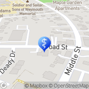 Map Richard A Zuppardi DDS East Weymouth, United States