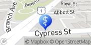 Map Nicklas Oldenburg, MD Providence, United States