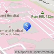 Map Gentle Dental Concord Hospital Concord, United States