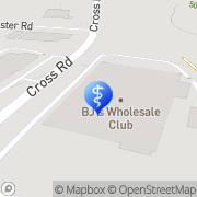 Map BJ's Optical Central Waterford, United States