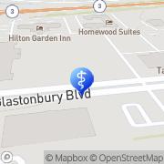 Map Fernandez Ana M DDS Glastonbury, United States