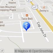 Map Stephen Bench Rutland, United States