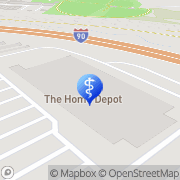 Map Christopher Arena Albany, United States
