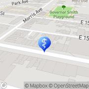 Map Glad Dental P.C. Bronxdale, United States