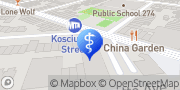 Map Broadway Family Dental Brooklyn, United States