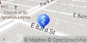 Map Manhattan Primary Care (Upper East Side Manhattan) New York, United States