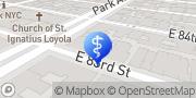 Map Manhattan Gastroenterology New York, United States