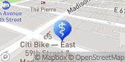 Map Manhattan Dental Health New York, United States