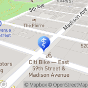 Map Smigel Research New York, United States