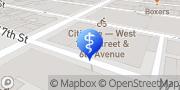 Map Manhattan Primary Care New York, United States