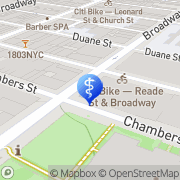 Map Fat Decimator New York, United States