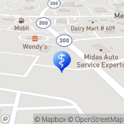 Map Aspen Dental Newburgh, United States