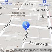 Map Meridian Medica Philadelphia, United States