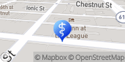 Map Center City Emergency Dentist Philadelphia, United States