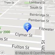 Map Rittenhouse Hypnosis Philadelphia, United States