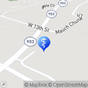 Map Jim Thorpe Family Dentistry Jim Thorpe, United States