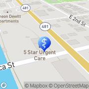 Map Tiffany Washington Oswego, United States