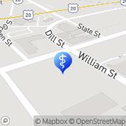 Map Finger Lakes Hearing Center Auburn, United States