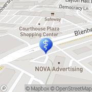Map Center of Acupuncture Fairfax, United States