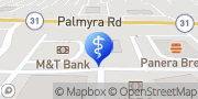 Map WellNow Urgent Care Fairport, United States