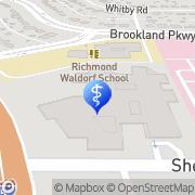 Map Children's Hospital of Richmond at VCU Cameron K. Gallagher Mental Health Resource Center Richmond, United States