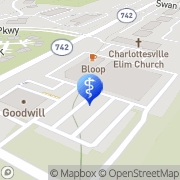 Map Mill Creek Orthodontics Charlottesville, United States