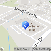 Map Treeo Senior Living Raleigh, United States