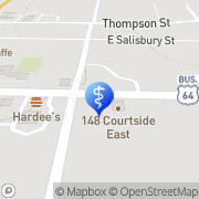 Map Freedman Elizabeth J Dr Pittsboro, United States