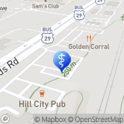 Map Baha Qablawi Lynchburg, United States