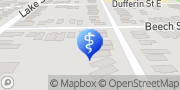 Map Bayridge Counselling Centre St. Catharines, Canada