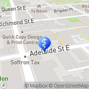 Map Trilogy Physiotherapy Toronto, Canada