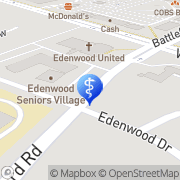 Map Edenwood Seniors Village Inc Mississauga, Canada