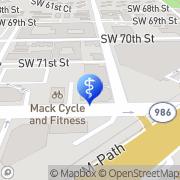Map Mariela Cogorno, MD South Miami, United States
