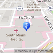 Map Baptist Health Center for Spine Care Miami, United States