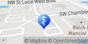 Map Treasure Coast Dermatology Port Saint Lucie, United States