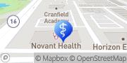 Map Novant Health–GoHealth Urgent Care – Waverly Charlotte, United States