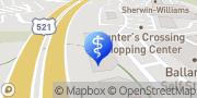 Map Eye Care Center- Ballantyne Charlotte, United States
