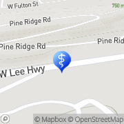 Map Anderson Audiology Hearing Aid Sales & Service Inc Wytheville, United States