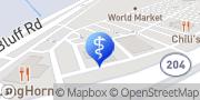 Map Aspen Dental Savannah, United States