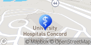 Map UH Concord Family Medicine Painesville, United States