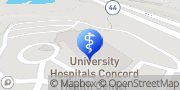 Map UH Concord Health Center Concord, United States
