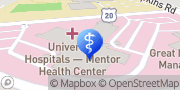 Map UH Mentor Health Center Rainbow Specialty Clinic Mentor, United States