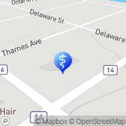 Map Miracle-Ear Hearing Center Komoka, Canada