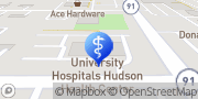 Map UH Hudson Health Center Laboratory Services Hudson, United States