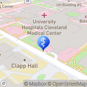 Map Casewestern Reserve University Cleveland, United States