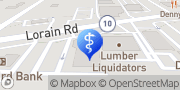 Map UH North Olmsted Health Center North Olmsted, United States